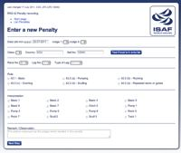 Penalty Enter page
